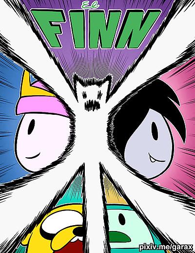 - Adventure Time - El Finn -..