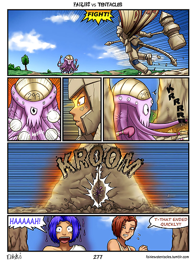 Fairies vs Tentacles - part 14