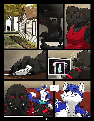 [Sonic Fox] [Black & Blue]..