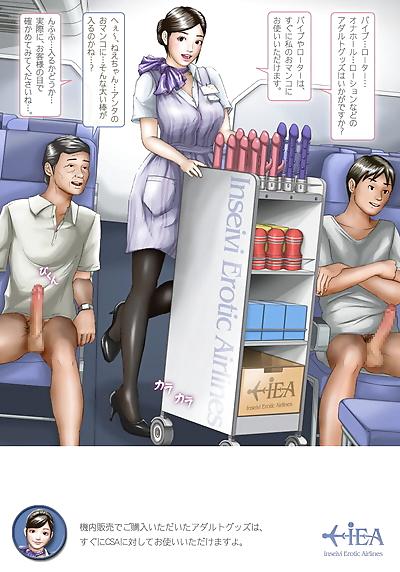 H&Stock Waridaka Koukuu Inseibi Airline Kinai Service Guidebook - part 3